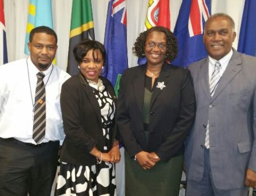 SKN LABOUR MINISTER AMORY ATTENDS ILO MEETING IN JAMAICA